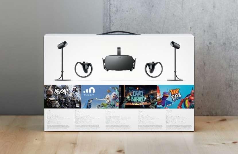 Lente de realidad virtual Oculus Rift Xbox One pc - 3