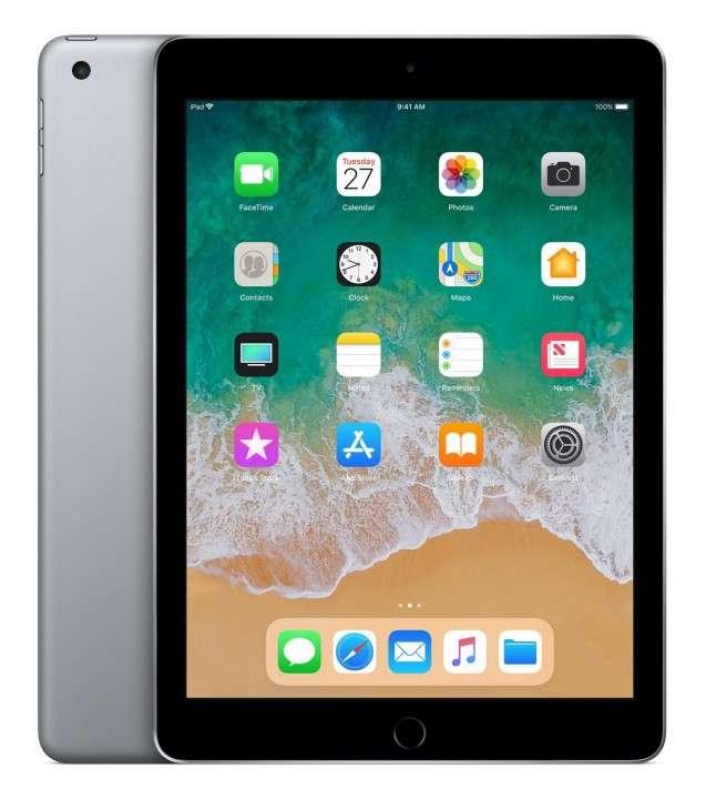 iPad 6th 9.7 pulgadas A10 wifi lte 32 gb iOS 11 space gray - 0