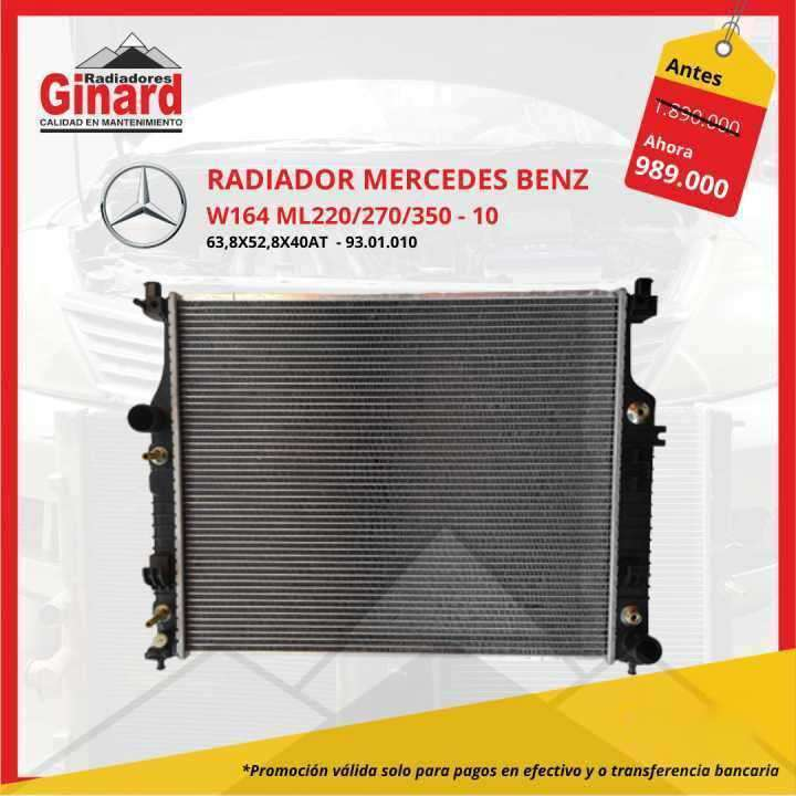 Radiador para Mercedes Benz W164 ML220/270/350 - 0