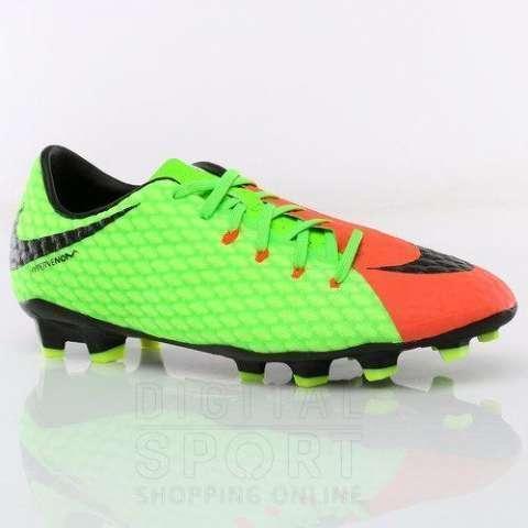 Botín Nike Hypervenom Phelon doble color calce 36,5 - 0
