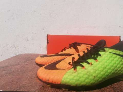 Botín Nike Hypervenom Phelon doble color calce 36,5 - 1