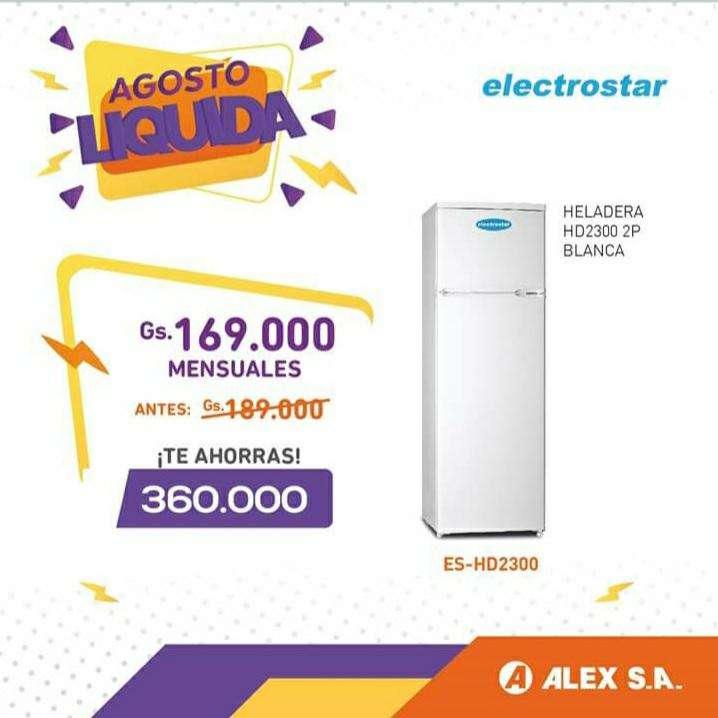 Heladera Electrostar 2 puertas - 0