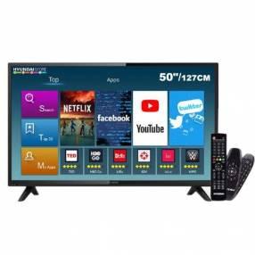 Smart tv led Hyundai 50 pulgadas Android full HD digital US