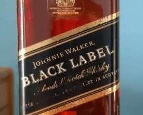 Whisky Johnnie Walker Black Label 1 litro