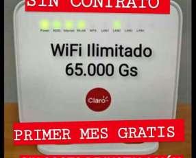 Wifi ilimitado de Claro