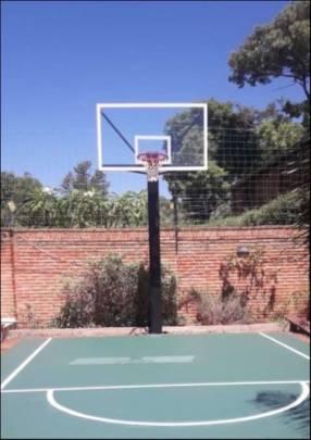 Aro rebatible de básquetbol