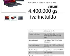Notebook Asus I3