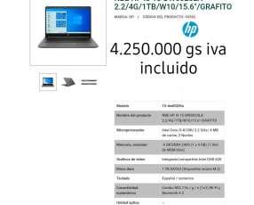 Notebook HP I3