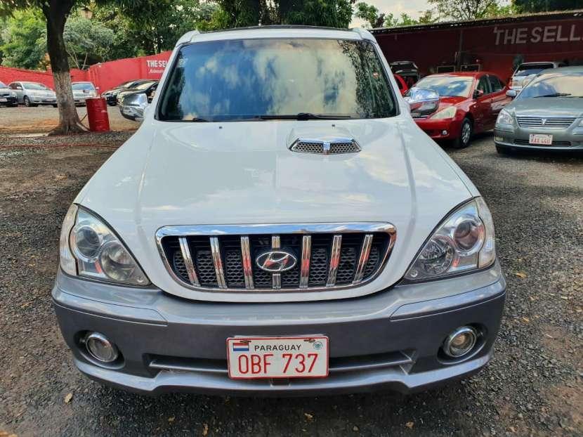 Hyundai terracan 2003 motor 2.9 diésel automático - 2