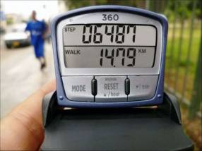 Podómetro Accufitness SL 360