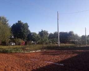 Terreno esquinero en Minga Guazú