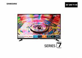 Televisor Smart Led Samsung 55 pulgadas 4k UHD