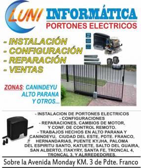 Instalación de portones eléctricos