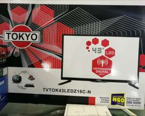 Tv LED de 43 sintonizador digital