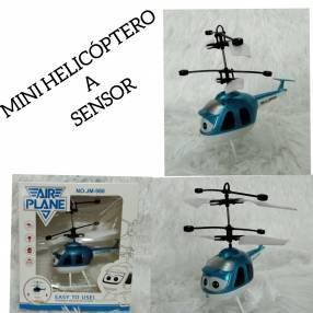 Mini helicóptero a sensor