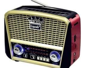 Radio retro am fm sw tf usb aux Ecopower
