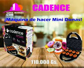 Máquina para hacer mini Donas Donuts Cadence