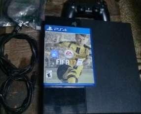 PS4 de 500 gb con 12 juegos y un disco de fifa 17