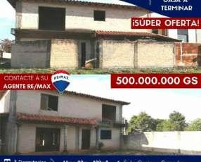 Casa a terminar en Luque en el 4to barrio
