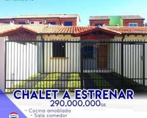 Chalet a estrenar en Villa Elisa