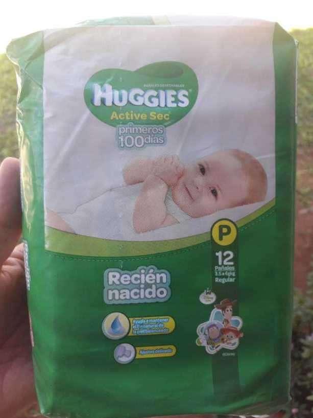 Pañal Huggies - 0