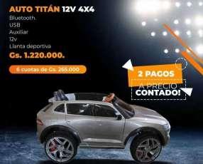 Auto infantil Titan