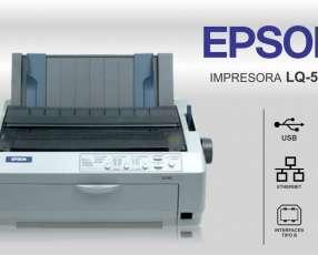 Impresora Matricial Epson LQ-590.