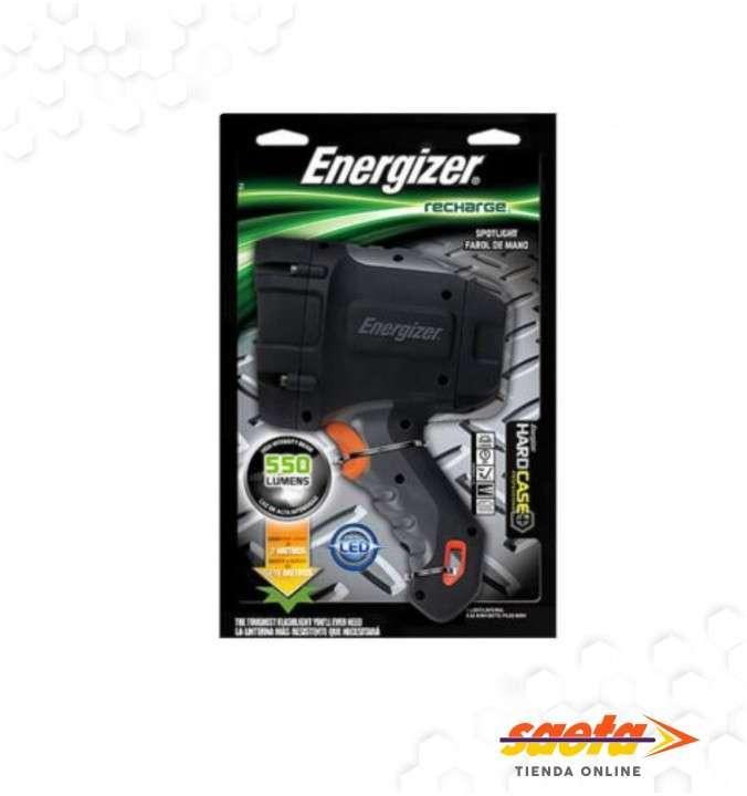 Linterna Energizer hard case recargable led - 0