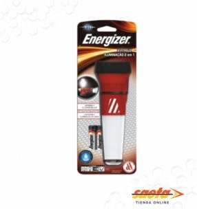 Linterna Energizer 2 en 1 con cono de emergencia +2AA