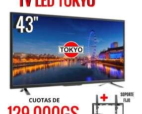 TV LED Tokyo 43 pulgadas Full HD
