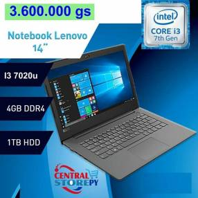 Notebook Lenovo V130 core i3 8 gb 1TB 14 pulgadas