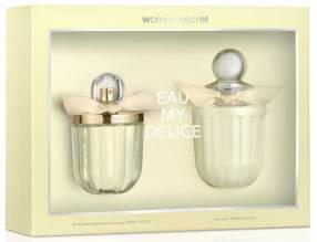 Kit de perfume WOMEN´SECRET MY DELICE Eau de Toilette 100 ML + Loción corporal 200 ML