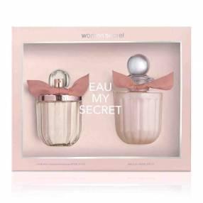 Kit de perfume WOMAN'S MY SECRET Eau de Toilette 100 ML + Loción Corporal 200 ML