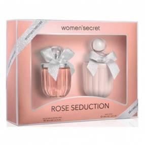 Kit de perfume WOMEN´SECRET ROSE SEDUCTION Eau de Parfum 100 ML + Loción Corporal 200 ML