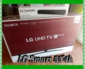 Smart TV LG 4K de 55 pulgadas