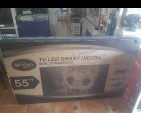 Smart tv led 4k uhd Speed 55 pulgadas