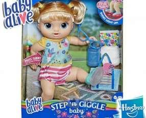 Bebé Pasos y Risas Rubia Baby Alive Hasbro