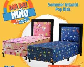 Sommier infantil Pop Kids