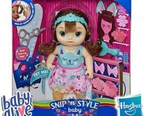 Bebé Peinado Magico Castaña Baby Alive Hasbro