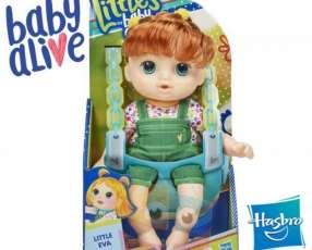 Pequeña Eva Baby Alive Hasbro Littles Squad