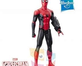 Muñeco Spider-Man Lejos de casa 30 cm Hasbro Titan Hero Power FX