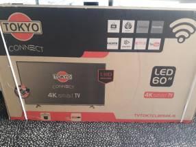 Smart TV 4K Tokyo de 60 pulgadas