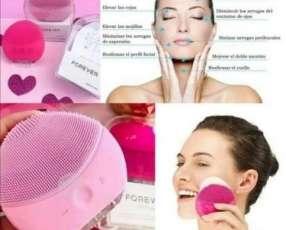 Limpiador y masajeador facial 2 en 1