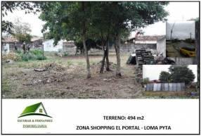 Terreno en Loma Pytá
