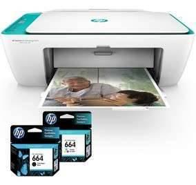 Impresora multifunción negro y color Hp 2675 wifi