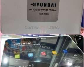 Tablet Hyundai solo wifi exclusivo para niños mas estuche