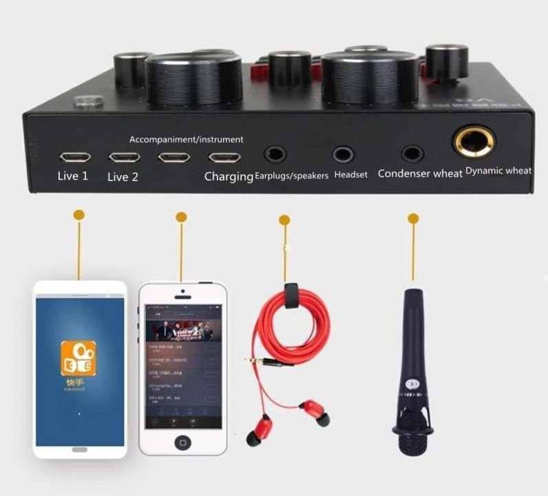 Tarjeta de sonido con pads predeterminados - 1