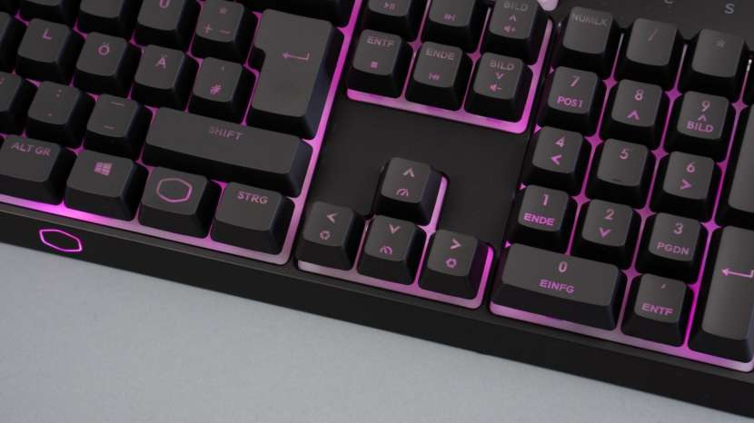 Kit Teclado Mecánico + Mouse Gamer Cooler Master MS110 - 1