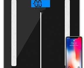 Balanza cuadrada smart digital negro