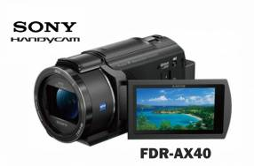 Filmadora Sony FDR-AX40 UHD 4K